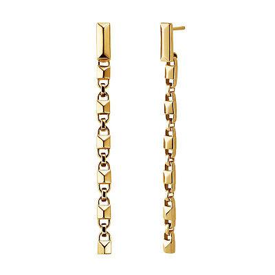 Michael Kors Earrings 925 Silver MKC1012AA710 New Colour: Yellow Gold Earrings