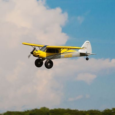 Carbon Cub S+ 1.3m RTF RC Airplane *WATCH VIDEO* W/ Safe Technology