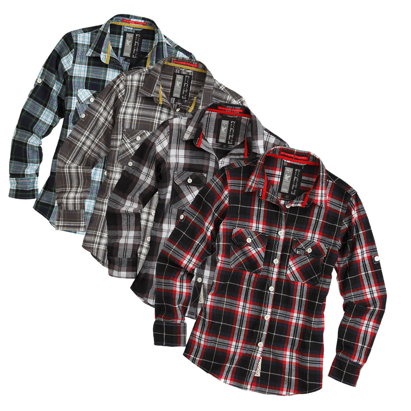 Surplus RAW Woodcutter Shirt Camicia boscaiolo Business Button Down T-Shirt S-XXL