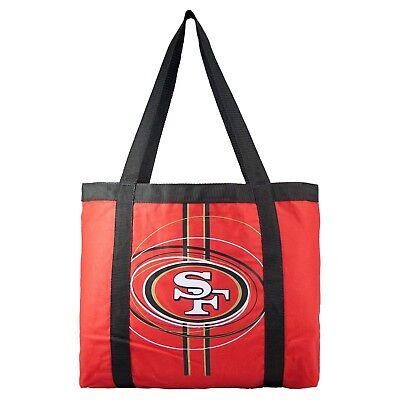 San Francisco 49ers Tailgate Canvas Tote Shoulder Bag Purse NFL Nfl Canvas Tailgate Tote