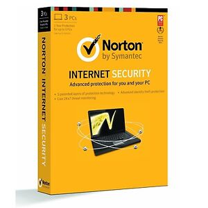 Norton Internet Security 2013 - 3 Users / PC - 1 Year (New, Sealed Retail Box)