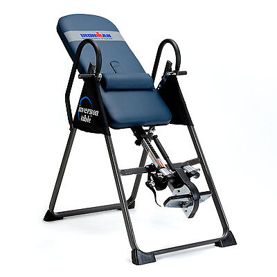 NEW Ironman Gravity 4000 Inversion Therapy Table Fitness Workout Core Exercise on Rummage
