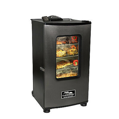 "MASTERBUILT 30"" ELECTRIC SMOKEHOUSE SMOKER W/ WINDOW & RF CONTROLLER - 20070411"