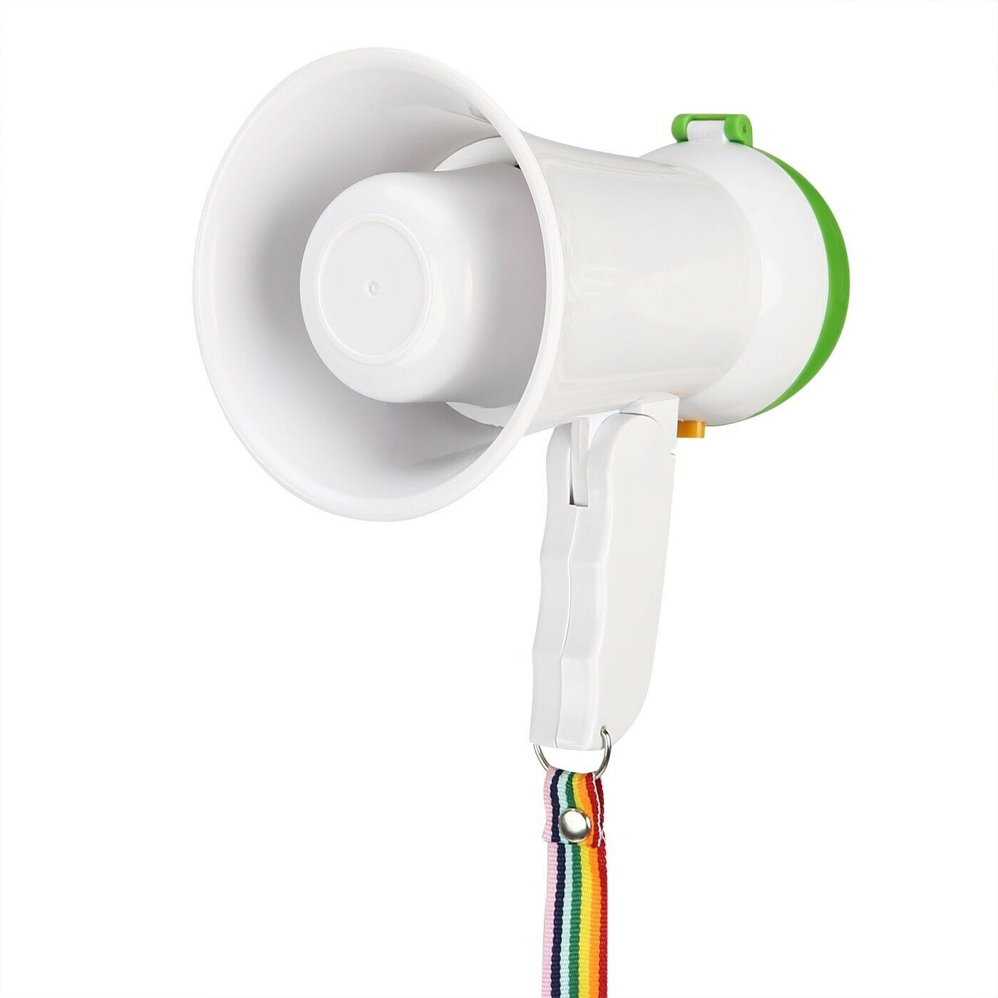HDE 5W Mini Bull Horn Megaphone Voice Amplifier with Lanyard