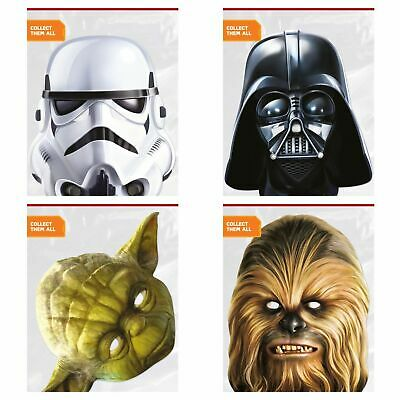 Star Wars Face Masks Hen & Stag Party Fancy Dress Fun Party wear Famous - Famous Face Masks