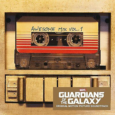 Guardians Of The Galaxy Awesome Mix Vol 1   New Cd Album   Movie Film Soundtrack