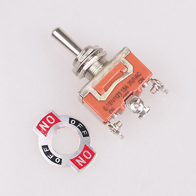 1pcs Latching Spdt 3 Positions Onoffon 3-terminals Latching Toggle Switch Ac