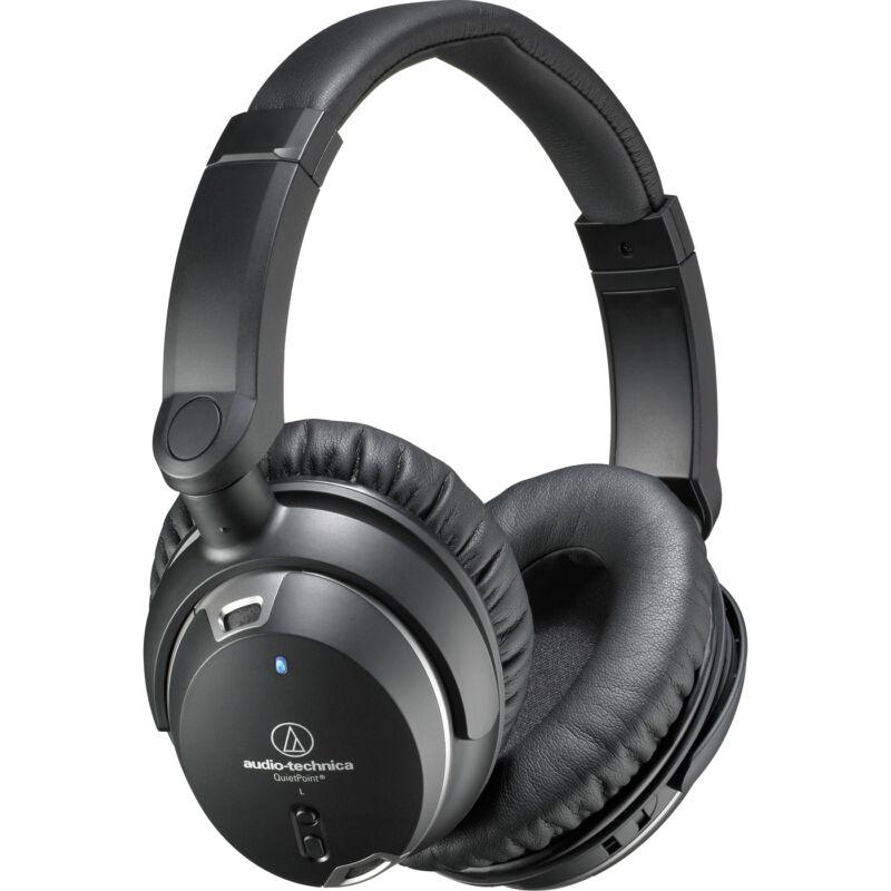 Audio-Technica ATH-ANC9 QuietPoint Noise-Cancelling Headphones