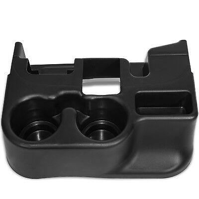 Cup Holder Insert Fits 99-01 Dodge Ram 1500 Black Front Center Console Liner