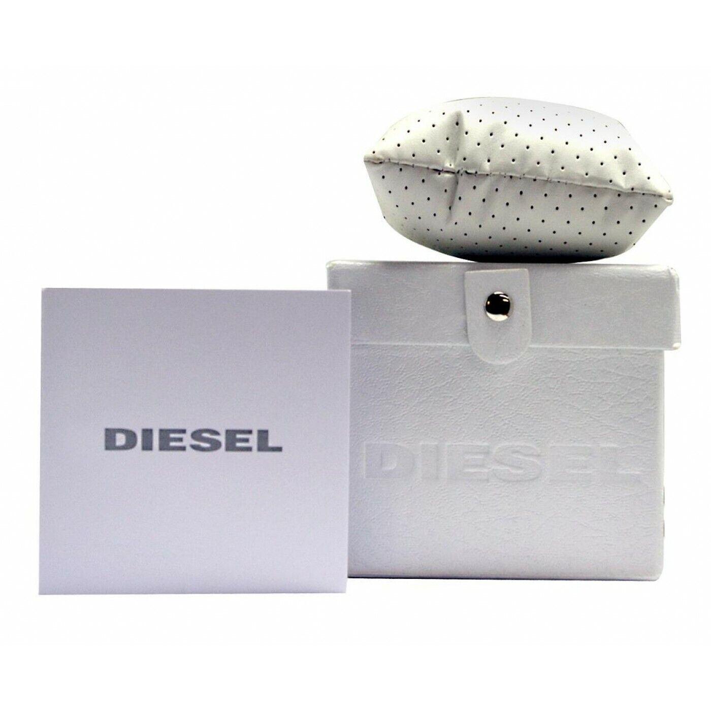 Diesel DZ7406 Men's Mr. Daddy 2.0 Black IP and Brown Leather Chronograph Watch