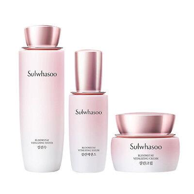 Sulwhasoo Bloomstay Vitalizing Skin Care Set  anti-oxidant anti-aging K-Beauty