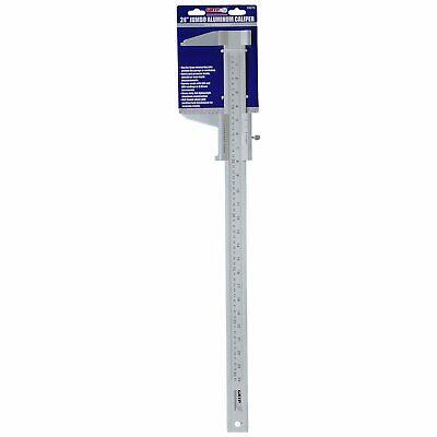 Grip 24 Jumbo Aluminum Caliper 3-18 Max Jaws Measuring Scale Tool 59070