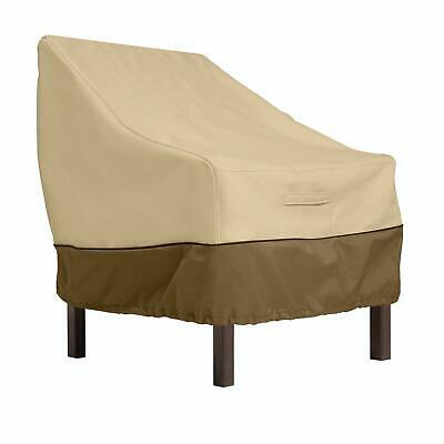 Classic Accessories Veranda Patio Chair Cover 78912, Standard, Pebble  (Classic Accessories New Veranda Patio)