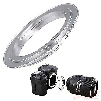 Nikon Al F to Canon EOS Lens Adapter EF Rebel Digital Camera Mount Adapter Ring