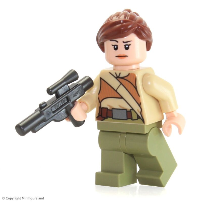Female Minifigure from 75103 New Lego Star Wars Resistance Soldier