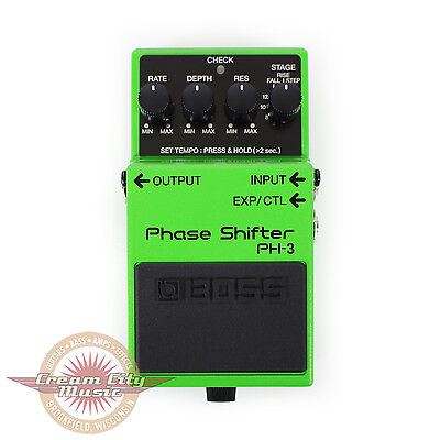 Brand New Boss PH-3 PH3 Phase Shifter Pedal