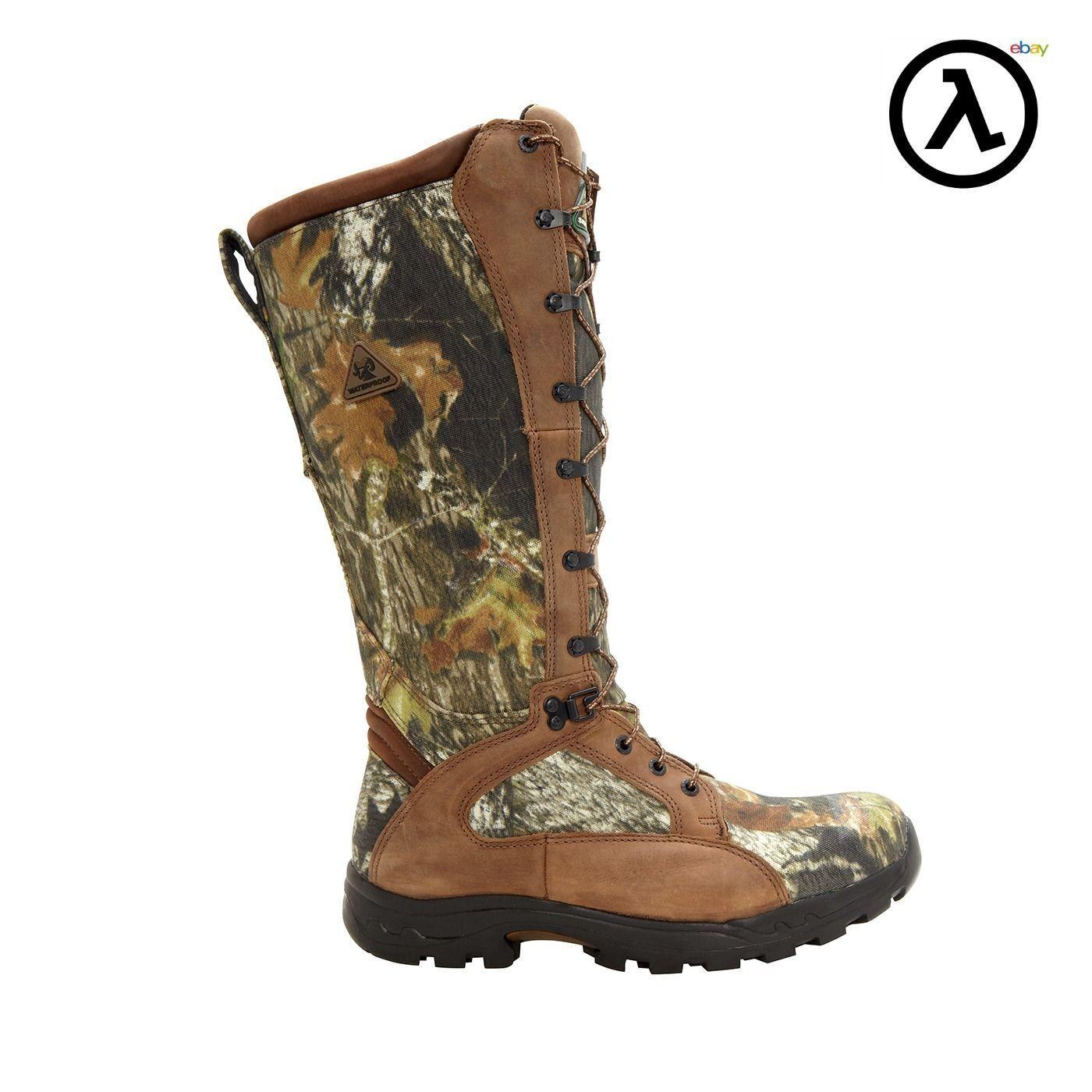 rocky prolight waterproof snake proof hunting boots
