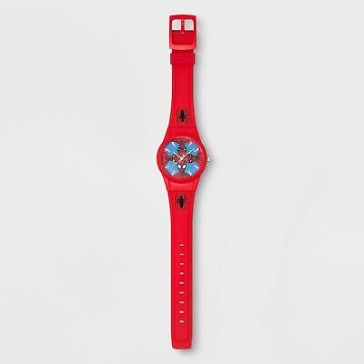Kids' Marvel Spider-Man Analog Watch - Red #kp2
