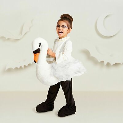 Hyde & Eek White Swan Toddler Plush Costume Dress Up Ride On Halloween One Size ()