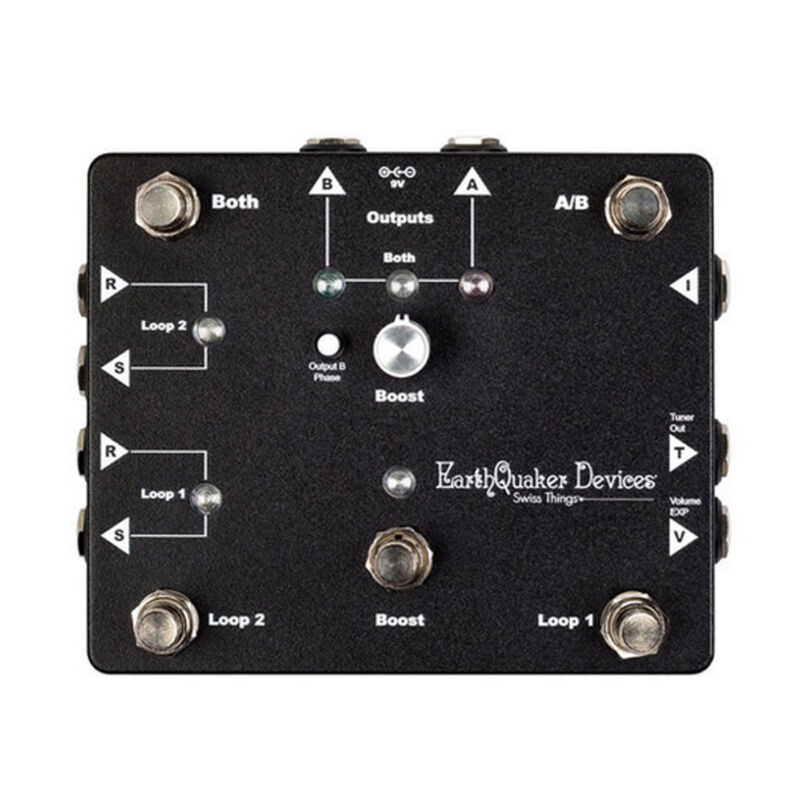 Earthquaker Devices Swiss Things Flexi-Switch & ABY Pedal