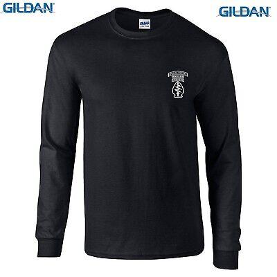- US Army Ranger US Military Ranger Airborne  Long Sleeve T-Shirt