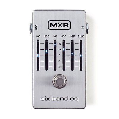 MXR Six Band EQ M109S, Brand New in The box !