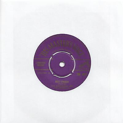 "KEN MACKINTOSH & HIS ORCHESTRA - DIZZY FINGERS (HMV 7M 417) UK GOLD PRINT 7"" VG+"