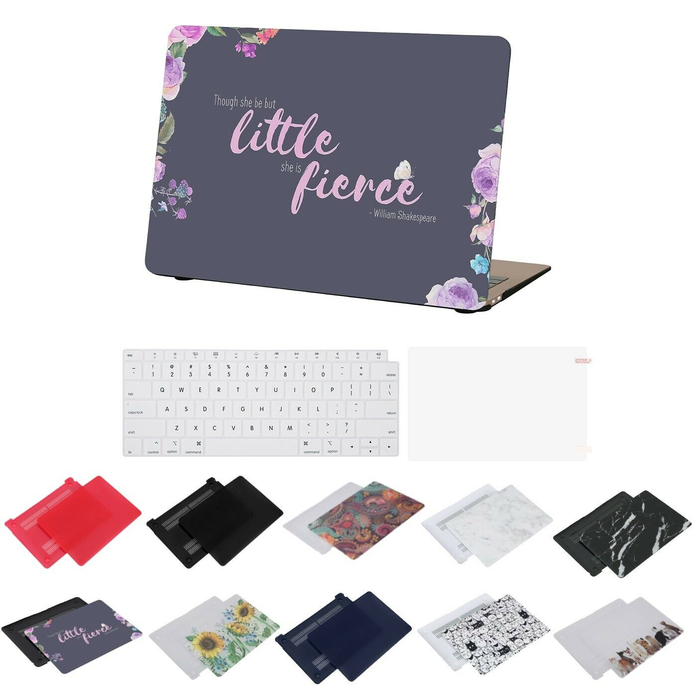Case For MacBook Air 13 Inch A1932 2018 Protective Snap On C
