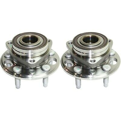 Wheel Hub & Bearing Assembly Pair Set of 2 for Buick Chevy GMC Saab New