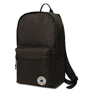 7c6bd81970 CONVERSE NEW Backpack Black EDC Poly Bag BNWT