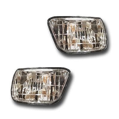 Fits 02-09 Chevrolet Trailblazer Driver + Passenger Fog Light Assembly 1 Pair