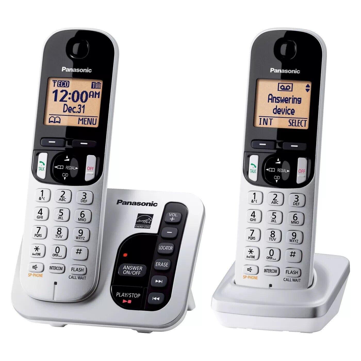 Panasonic KX-TGC222S  Expandable Digital Cordless Answering