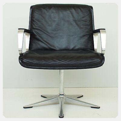 """WILKHAHN """"Delta"""" - Ledersessel Armchair Konferenzstuhl Loungesessel Lederstuhl"""