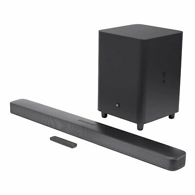 JBL Bar 5.1 IM Soundbar Surround Sound 4K HDMI Kabellos WLAN Subwoofer Schwarz