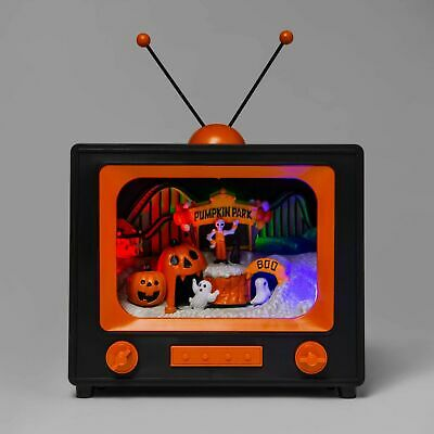 ween TV Scene Pumpkin Park Decoration Prop Hyde & EEK! New (Halloween-tv)