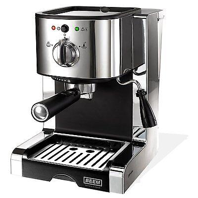 BEEM Perfect Ultimate 20 bar Espresso-Siebträgermaschine mit Milchaufschäumer