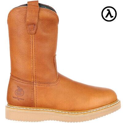 Wedge Wellington Boots (GEORGIA STEEL TOE WEDGE WELLINGTON WORK BOOTS G5353 * ALL SIZES -)