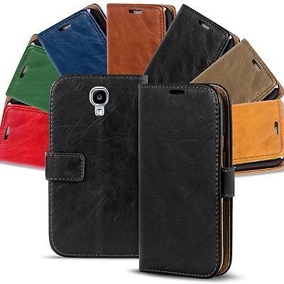 Handy Tasche Samsung Galaxy S4 Mini Flip Cover Case Schutz Hülle Wallet  Etui Mini-flip-cover