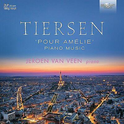 JEROEN VAN VEEN - YANN PIERRE TIERSEN: POUR AMÉLIE; PIANO MUSIC 2 VINYL LP NEU