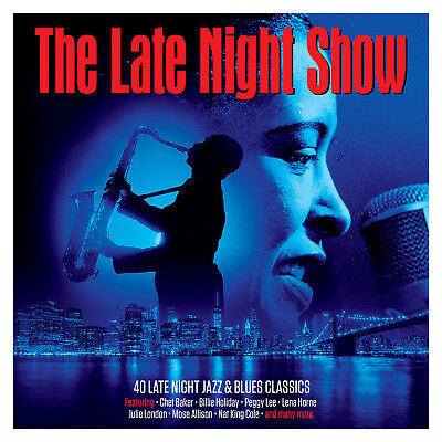 The Late Night Show VARIOUS ARTISTS Best Of 40 Jazz & Blues Classics NEW 2