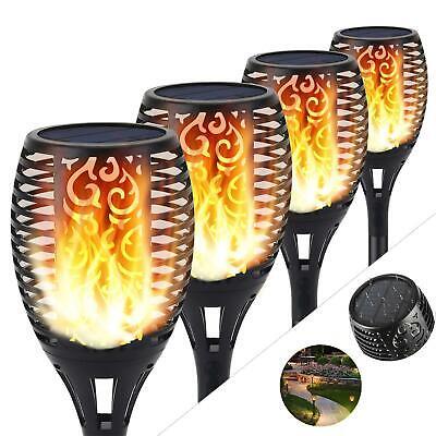 4x Solar Light LED Garden Lighting Lamp Torch Light Flame