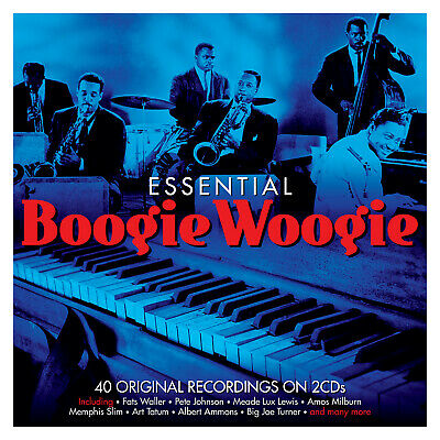 Essential Boogie Woogie VARIOUS ARTISTS Best Of 40 Original Recordings NEW 2