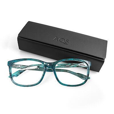 AQS by Aquaswiss Collin Unisex Optical - Glass Plastic Collins Glass