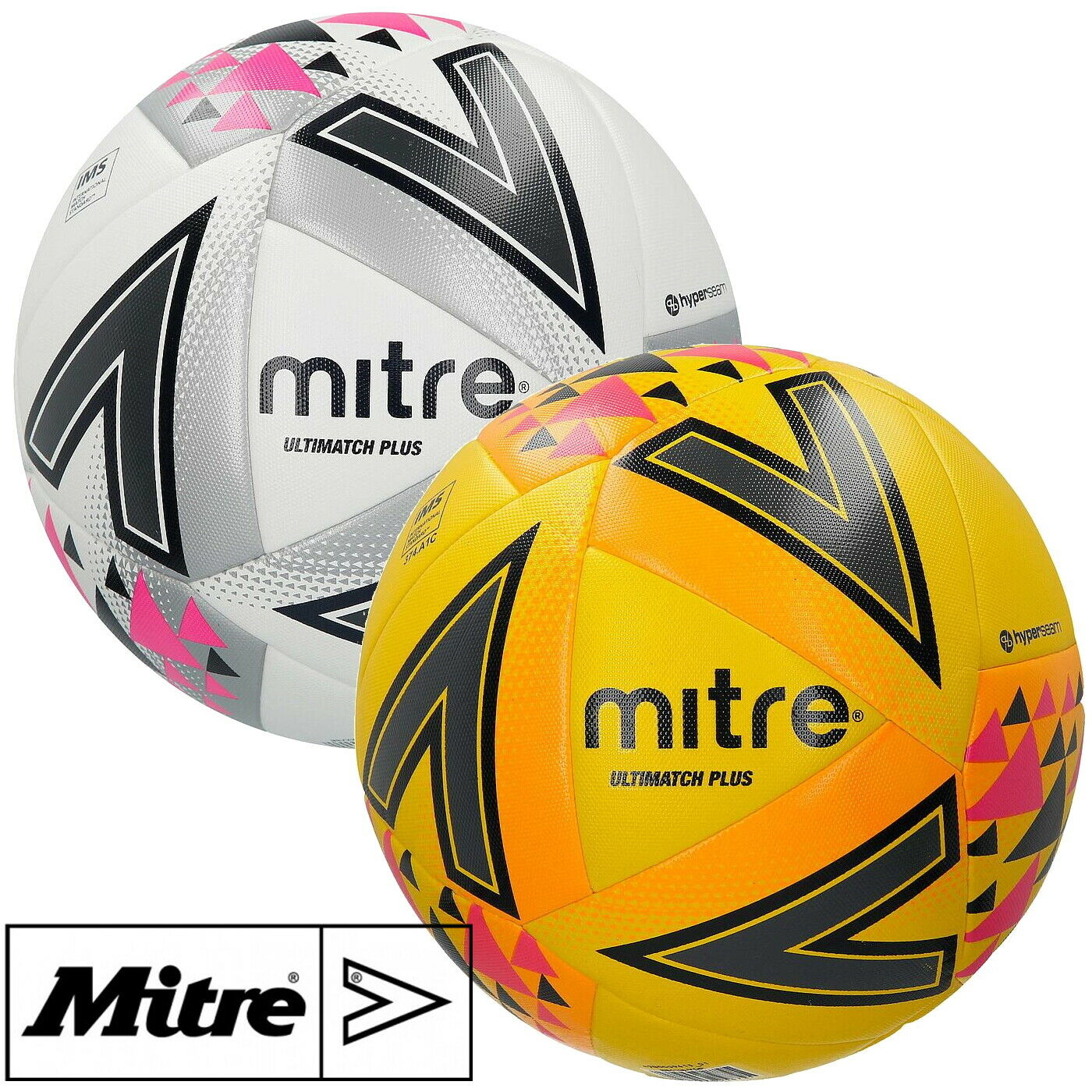 Mitre Mens Impel Max Training Football Ball White Size 5 RRP£20