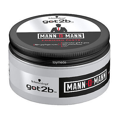 Schwarzkopf got2b Mann-o-Mann Forming Paste Glanz & Halt 100 ml Haarstyling men
