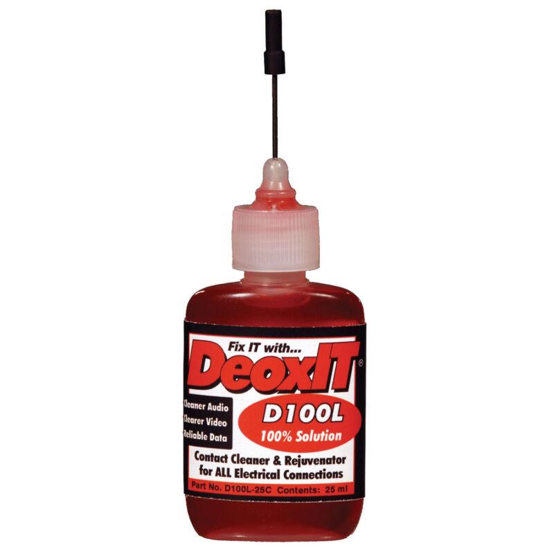 CAIG D100L-25C DeoxIT Needle Dispenser 25 ml