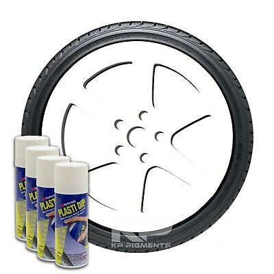 Performix Plasti Dip White Aerosol Spray Cans 11oz. 4 Pack Wheel Rim Kit
