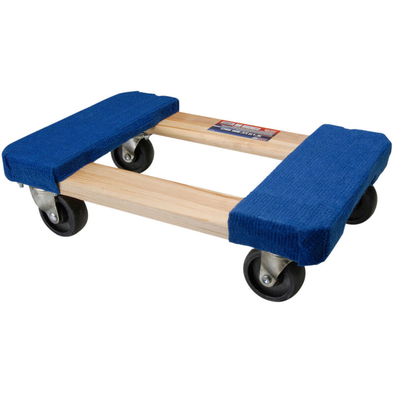 "Grip Tools 52024 Small Furniture Dolly 18"" L x 12-1/4"" W"