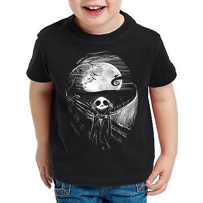 er T-Shirt jack skellington schrei christmas before burton (Jack Skellington Kinder)