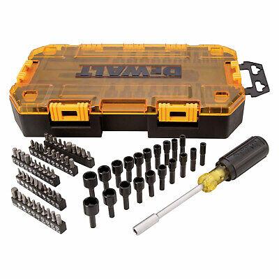 "Dewalt DWMT73808 Tough Box Tool Kit, 1/4"" Multi-Bit & Nut Dr"